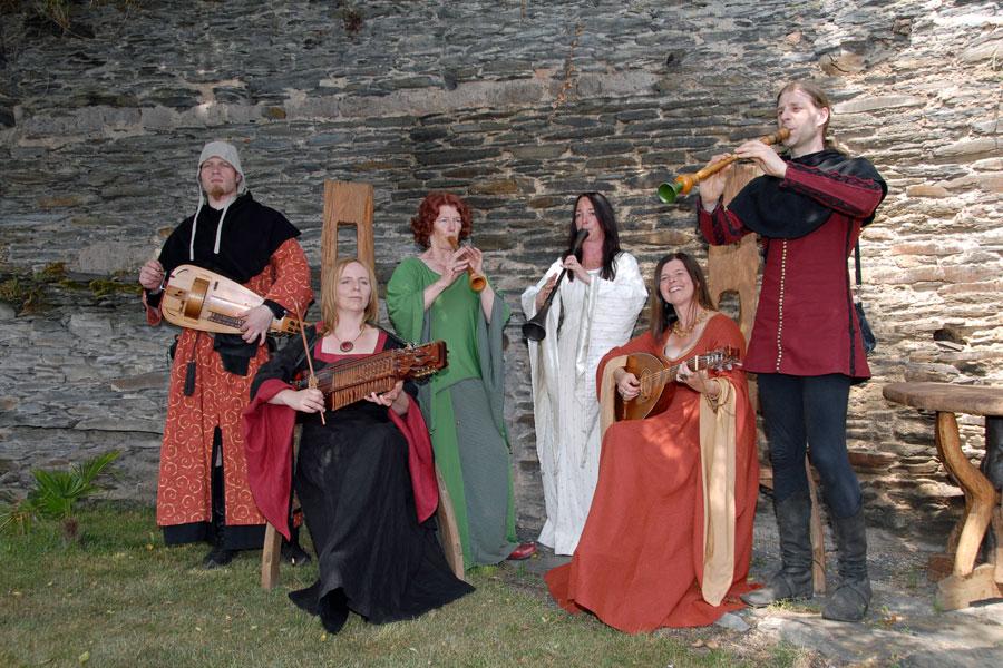 Höfische Musik mit dem Ensemble Stellaris